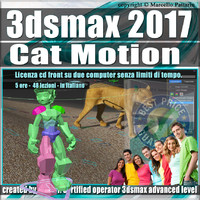007 3ds max 2017 Cat Motion vol.7.0 cd front