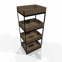 Modular storage shelf