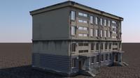 Loft Russian Building