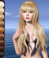 Bonnie Mesh Hair DAE OBJ
