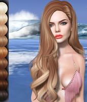 Lara Mesh Hair OBJ DAE