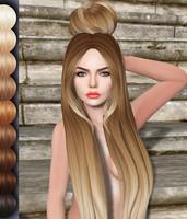 Tanusha Mesh Hair DAE OBJ