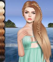 Wink mesh hair DAE OBJ