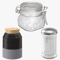 3 Sugar Canisters