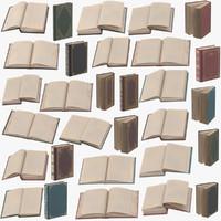 Classic Books Poses