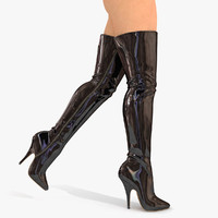 Boots High Knee Sexy Boots (2)