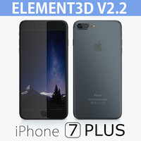iPhone 7 Plus Element3D V2.2