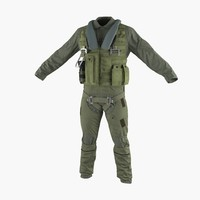 US Military Jet Fighter Pilot Uniform 3