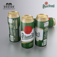 Beer can Pilsner Urquell 2016