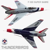 F100 Thunderbirds