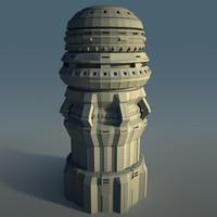 Futuristic Skyscraper 1