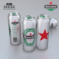 Beer can Heineken 2016