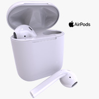 Wireless AirPods + Charge Box
