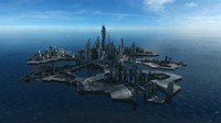 Stargate Atlantis City Scyscraper