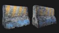 Concrete Divider