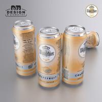 Beer Can Warsteiner grapefruit 2016