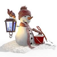 cartoon snowman 6