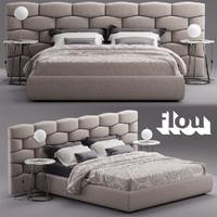 Flou MAJAL Bed