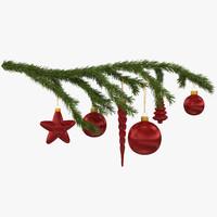 Sprig of Christmas Tree 2