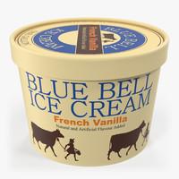 Ice Cream Gallon Tub Vanilla
