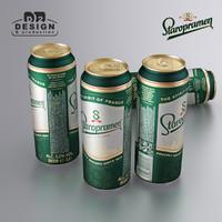 Beer Can Staropramen 2016