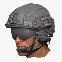 Crye Precision ATX Helmet Set