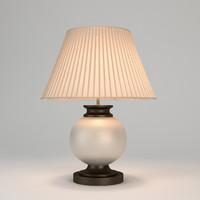 Chelsom Ceramic Art Ivory Crackle Table Lamp