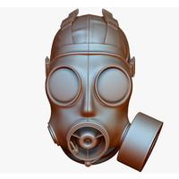 3d gas mask s10