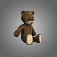 Teddy Bear Low-Poly