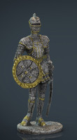Medieval Knight Statue 2
