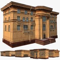 3d soviet hotels