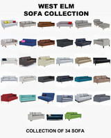 West Elm Sofa collection