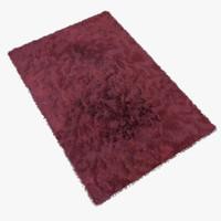 3d fur carpet