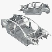 Tesla Model S Frame 3