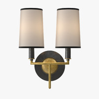 Nicholas Haslam - Dorchester double wall light