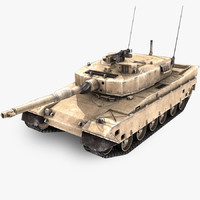 type 90 main battle tank 3d 3ds