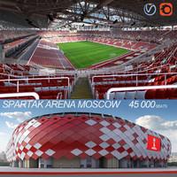 Soccer Olympic Stadium Spartak