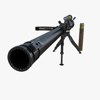 3d m18 recoilless rifle