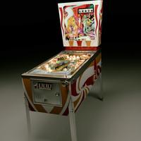 Real3D Pinball machine 3