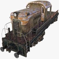 locomotive games 3d model