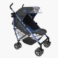 Baby Stroller Blue