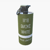 Smoke Grenade - White