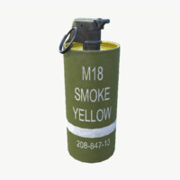 Smoke Grenade - Yellow