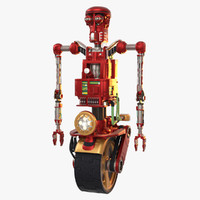 Robot Model 10 - Red Loom