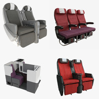 Jal Airplane Seat Collection