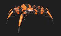 Spider Robot game