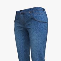 Jeans Woman Blue