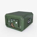 military radio 3D models