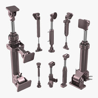 Anodized Hydraulic Cylinders Set