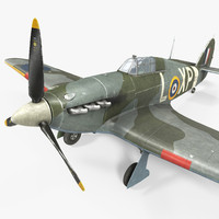 Hawker Hurricane Weathered